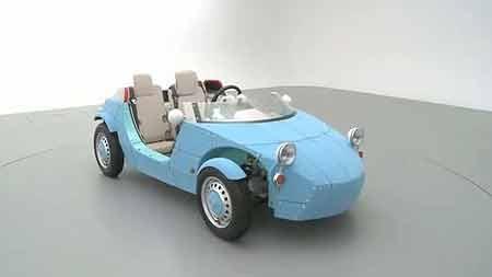 گزارش و تصویر/ طرح عجیب یک شرکت خودروسازی؛ ماشینتان را در خانه بسازید
