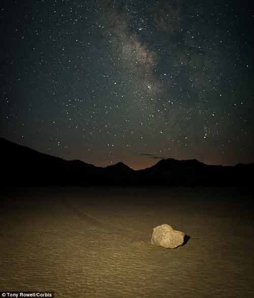 سنگهای متحرک