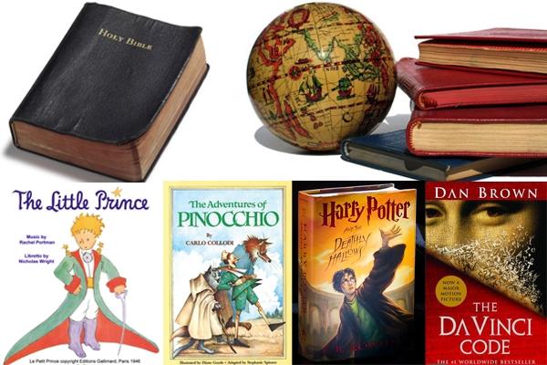 پرتیراژترین کتابهای طول تاریخ