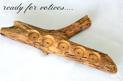 آشنایی با طرز ساخت جاشمعی چوبی
