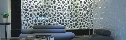 آشنایی با پانل های دیواری 3 بعدی در دکوراسیون