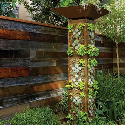 چطور برجک سبزیجات درست کنیم؟باغ