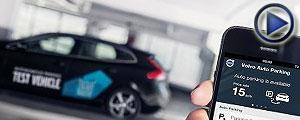 ویدئو / فناوری جدید ولوو ؛ پارک خودرو با موبایل
