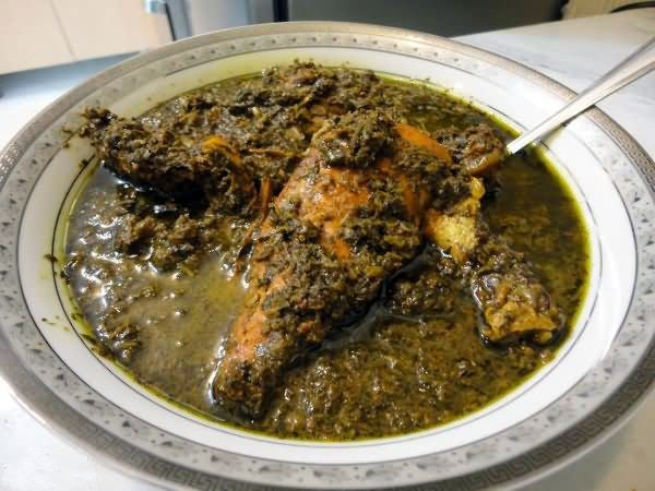 ترشه سماق - غذای محلی مازندرانیها