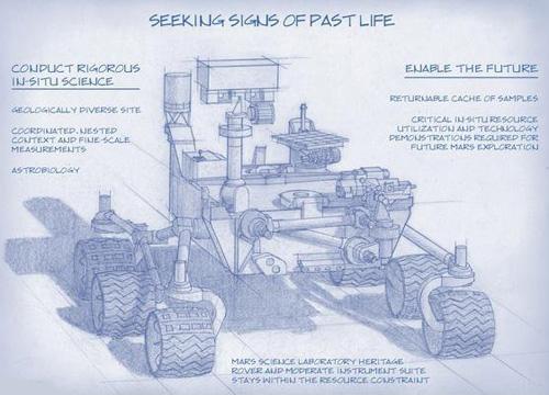 طرح مریخنورد جدید ناسا