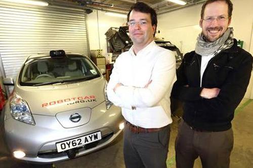 نخستین خودروی بدون راننده در انگلیس آزمایش شد