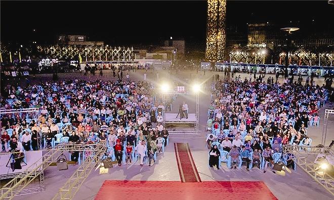 استقبال از ویژه برنامههای برآستان جانان در پایتخت