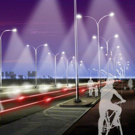 روشنایی هوشمند خیابانها، با صرفه جویی 80 درصدی در انرژی