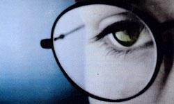 چشم عینک