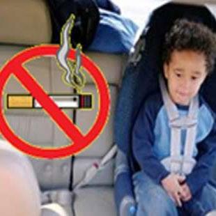 در 7 کشور جهان، استعمال دخانیات در خودروی حامل کودکان زیر 15 سال ممنوع شد