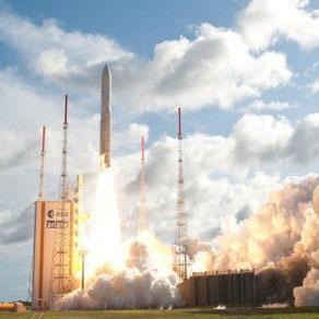 الحاق بزرگترین ماهواره ارتباط از راه دور اروپا به مدار
