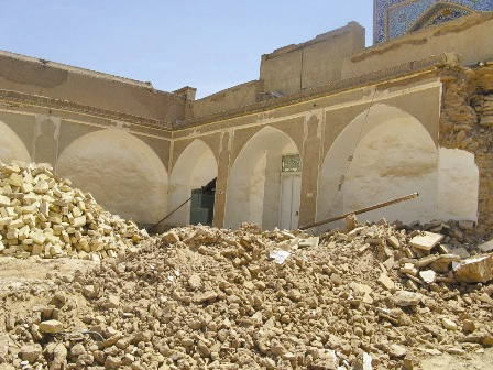 نادیده گرفتن استفتاء در تخریب بافت تاریخی یزد