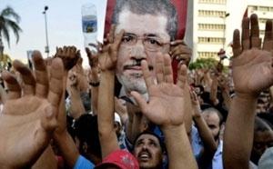تونس؛ تظاهرات النهضه در حمایت از مرسی