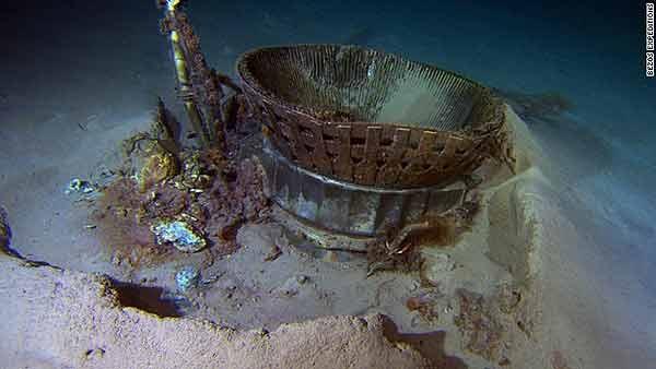 تایید کشف موتور راکت آپولو11 از اعماق اقیانوس