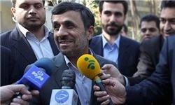 احمدینژاد: در حال اسبابکشی به نارمک هستیم