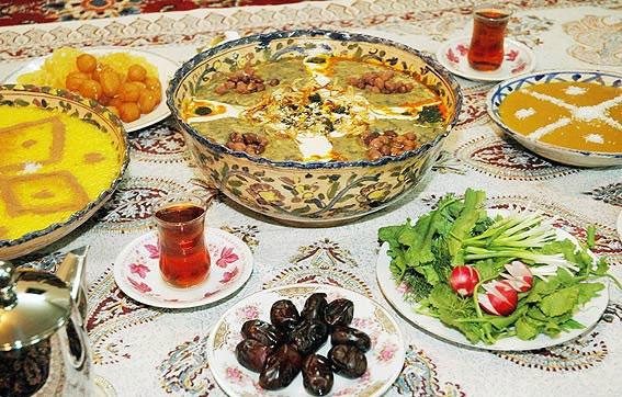 وعده افطار