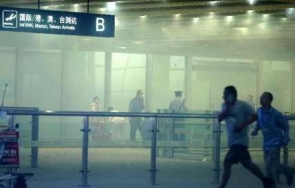 انفجار در فرودگاه پکن