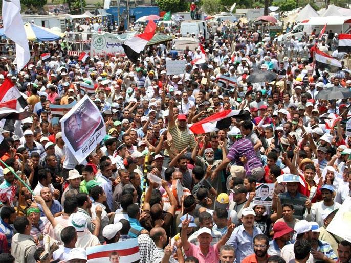 9 کشته و 86 زخمی در حمله به تظاهرات حامیان مرسی