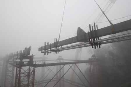 ساخت بزرگترین پل معلق جهان