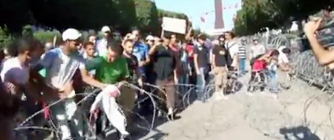 اعتصاب عمومی سراسر تونس را فراگرفت