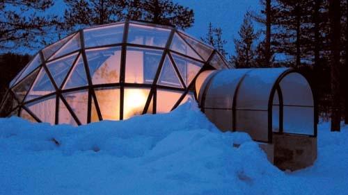 کلبههای شیشهای اسکیموها