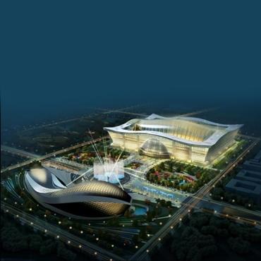 افتتاح بزرگترین ساختمان دنیا در چین