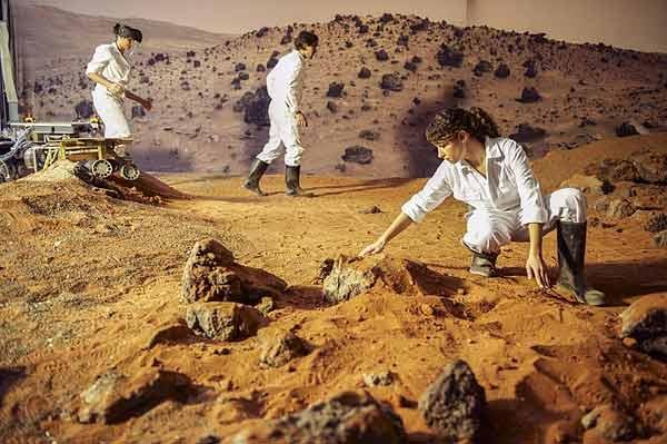 حیاط مریخ