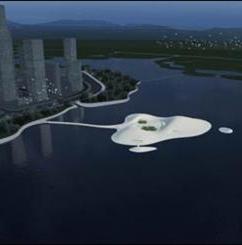ساخت جزیره مصنوعی برای بزرگترین موزه هنری آسیا