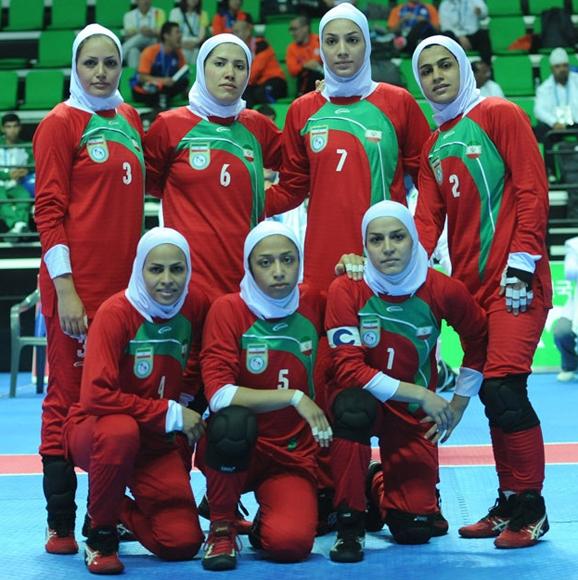 تیم ملی کبدی بانوان
