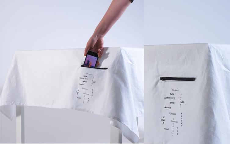 رومیزی جیبدار هوشمند برای تلفن همراه