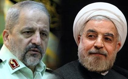 نیروی انتظامی با رئیس جمهور منتخب