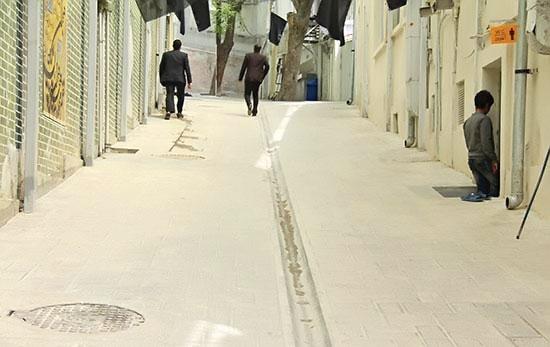 ساماندهی وضعیت تأسیسات شهری در پروژه جماران