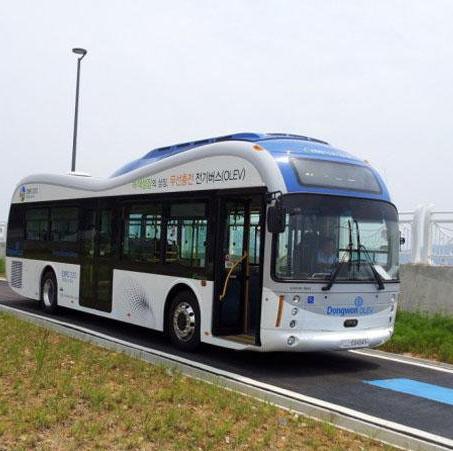 اتوبوسهای برقی که کف جاده شارژ میشوند