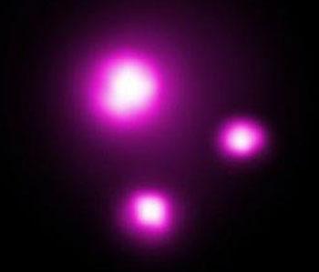 تصویر اشعه ایکس از گذر یک ابر مشتری از مقابل ستاره والد