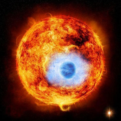 مشاهده عبور یک ابر مشتری داغ از مقابل ستاره والد