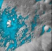 منبع اصلی آب روی ماه