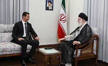رهبر انقلاب بشار اسد