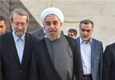 روحانی- لاریجانی