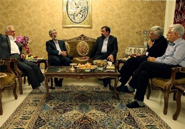 دیدار عارف و کاندیداهای ریاست جمهوری