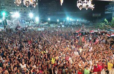ادامه اعتراض حامیان مرسی با وجود هشدارهای پلیس