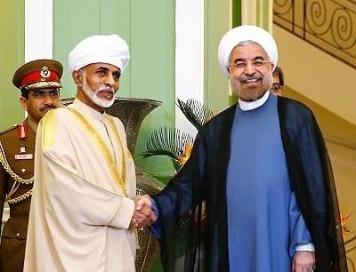دیدار پادشاه عمان و رییس جمهوری اسلامی ایران