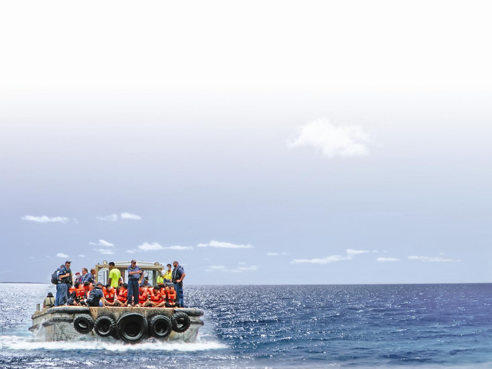 مخاطرات یک مهاجرت دریایی