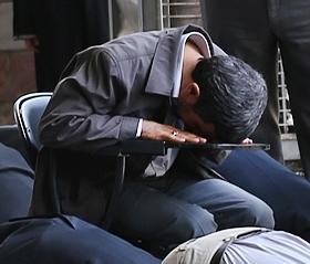 ۱۱مرداد: تصویر رئیس جمهور در نماز جمعه تهران