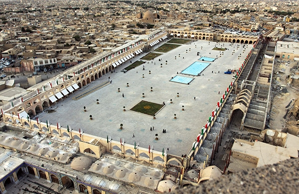 آشنایی با میدان امام علی (ع) - اصفهان