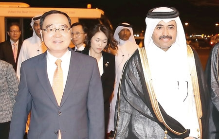 سفر نخستوزیر کرهجنوبی به قطر