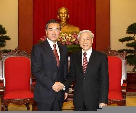 نخستوزیر ویتنام میزبان وزیر خارجه چین