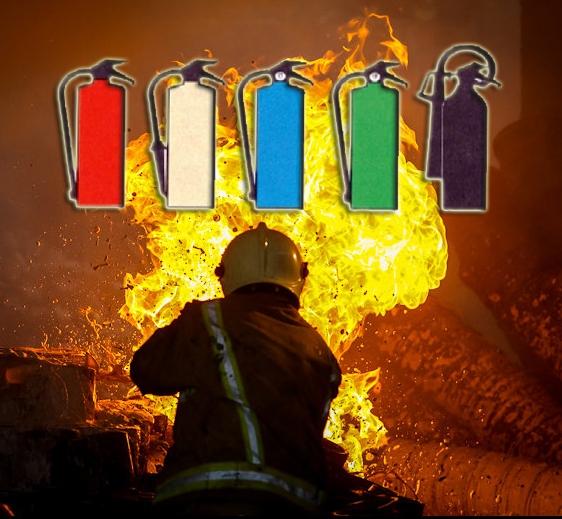 انواع کپسولهای رنگی آتشنشانی