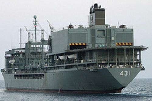 اعزام بیست و هفتمین ناوگروه نیروی دریایی ارتش به آبهای آزاد