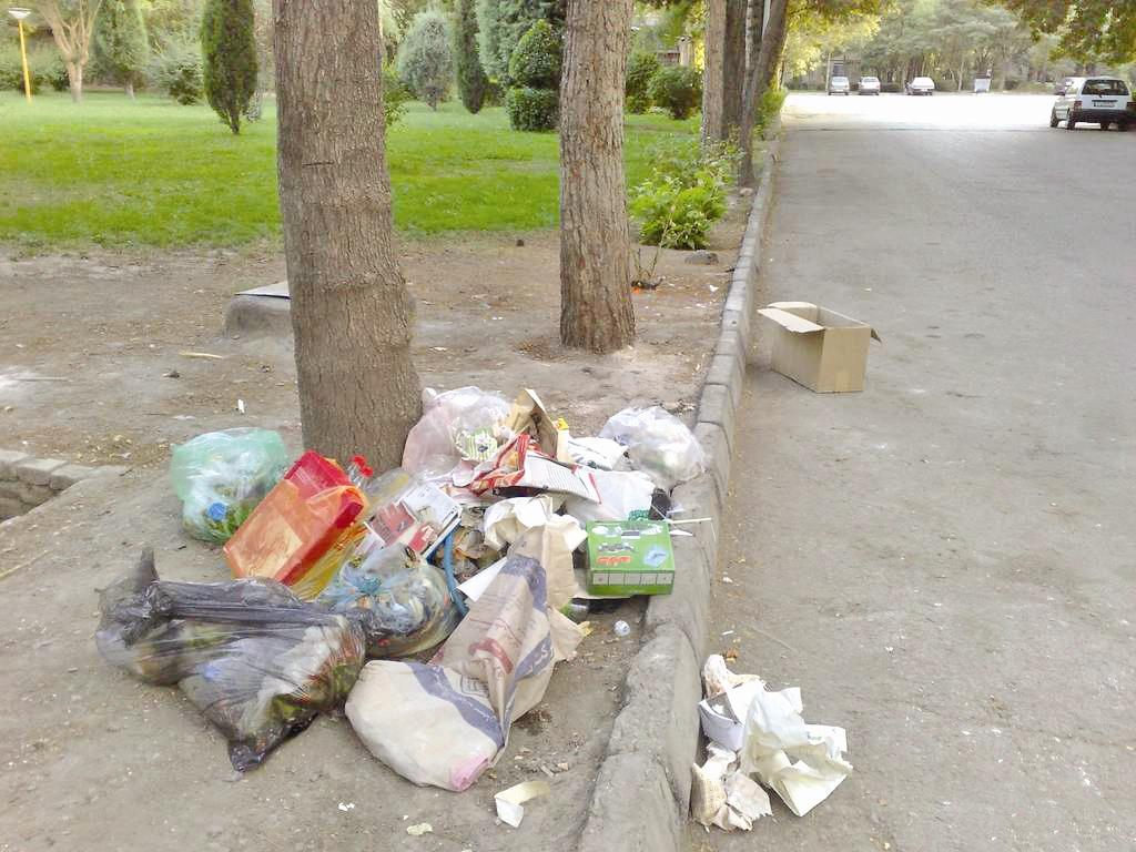روزی برای پاکسازی مناطق گردشگریکنار جادهای