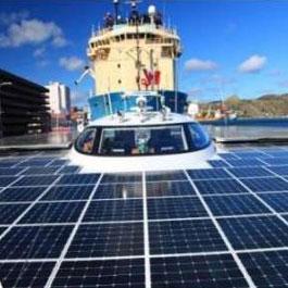رکوردزنی بزرگترین قایق خورشیدی جهان